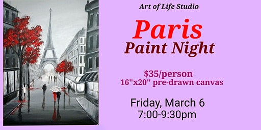 Paint Night: Paris