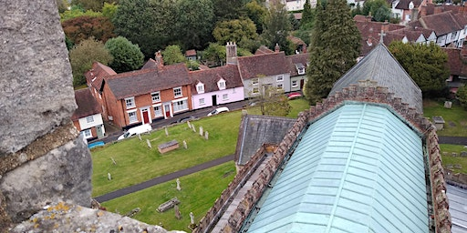 View from the Church Tower high level tour