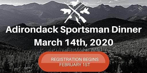Adirondack Outdoorsman Dinner 2020
