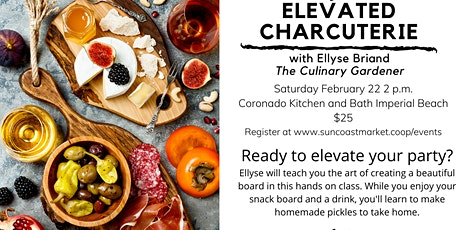 Elevated Charcuterie tickets