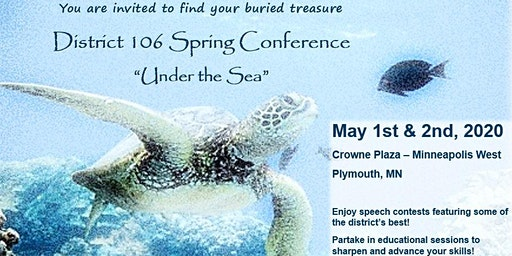 D106 Conference, May 1st & 2nd 2020