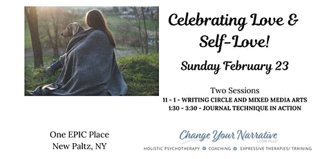 Poetry Circle and Journaling Workshop!  February Theme: Love and Self-Love in Our Community and Relationships tickets