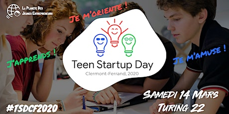 Teen Startup Day - Clermont Ferrand 2020 billets
