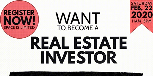 WANT TO BECOME A REAL ESTATE INVESTOR?