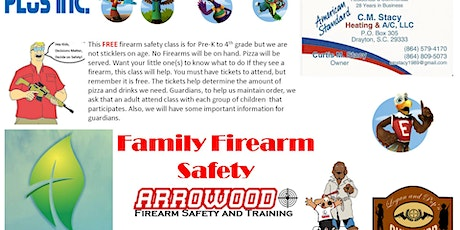 Family Firearm Safety Class tickets