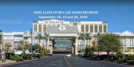SGHS Class of 80's Las Vegas Reunion tickets