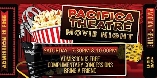 Movie Night on the patio