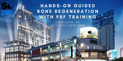 Fienodontics + ImplantsDC of Surgical Influence present Hands-On Guided Bone Regeneration with PRF Training