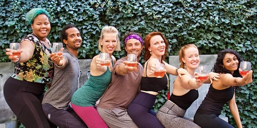 Drunk Yoga® Dallas Presents: Wine n' Yoga at Virgin Hotels Dallas