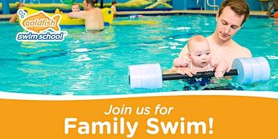 Feb 22  Saturday Family Swim   $5/child or $15/family   Adults swim free