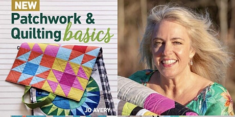 How to write a quilt book- An evening with Jo Avery tickets