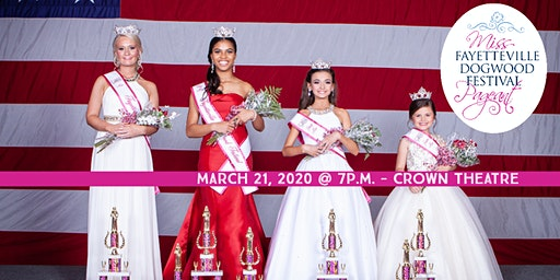 The 23rd Annual Miss Fayetteville Dogwood Festival Scholarship Pageant