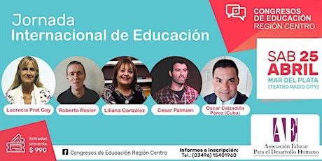 Jornada Internacional de Educación en Mar del Plata entradas