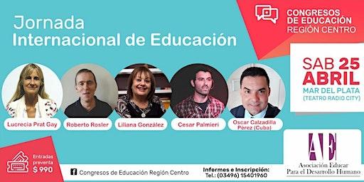Jornada Internacional de Educación en Mar del Plata