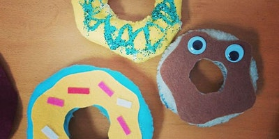 Half Day With DIY Donut Stuffies