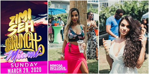 Zimi Seh Brunch Miami - March 29. 2020