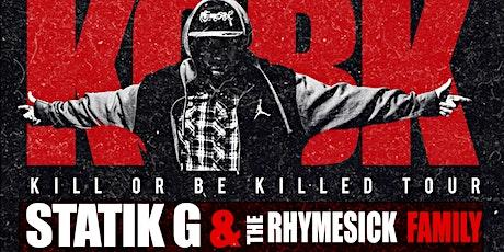 Statik G Live in Spokane @ The Pin (KOBK Tour) tickets