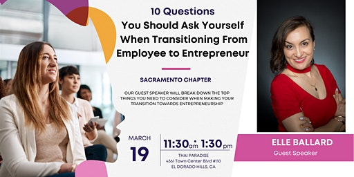 Women of the World Network Sacramento: From Employee to Entrepreneur