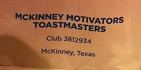 McKinney Motivators Toastmaster Club Meeting tickets