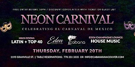 Neon Carnival tickets