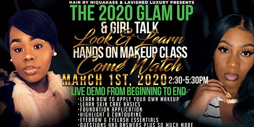 Glam Up and Girl Talk