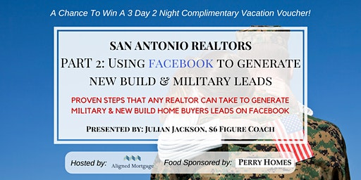FREE REALTOR LUNCH & LEARN [USE FACEBOOK TO GENERATE NEW BUILD LEADS]