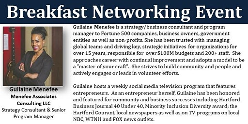 Bloomfield Small Business Breakfast Networking - Thursday, February 20th