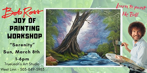 Bob Ross Joy of Painting Workshop - Serenity