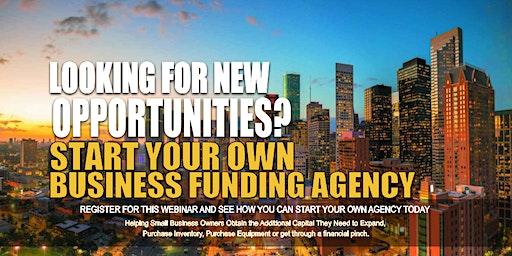 Start your Own Business Funding Agency Birmingham AL