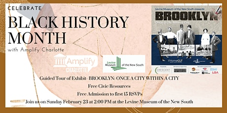 Black History Month with Amplify Charlotte tickets