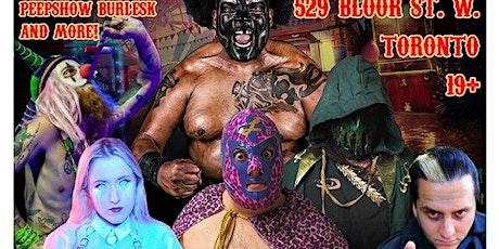 Something Strange Sideshow Wrestling  tickets