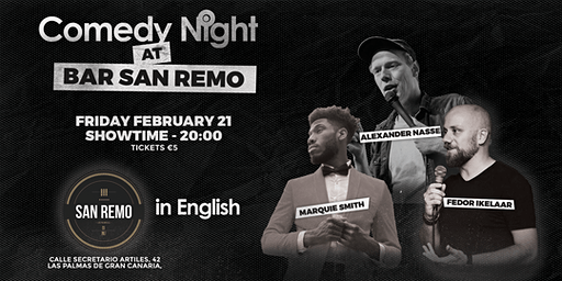 Comedy Night @ Bar San Remo