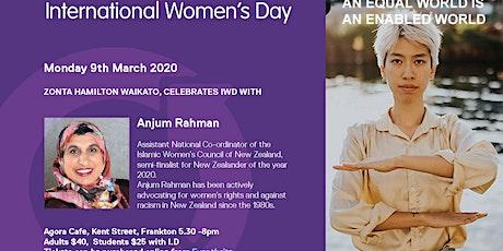 Zonta with Anjum Rahman celebrate International Women's Day tickets