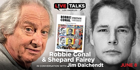 Robbie Conal & Shepard Fairey in conversation with Jim Daichendt tickets