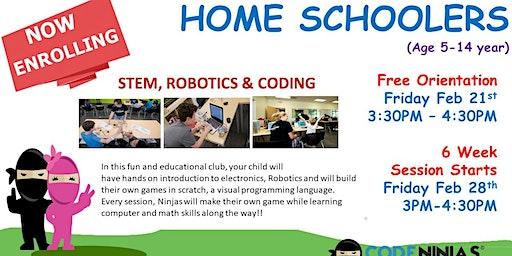 Code Ninjas - HomeSchoolers Open House