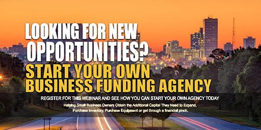 Own Business Funding Agency Columbia SC