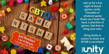 LGBTQ+ Unity Game Night tickets