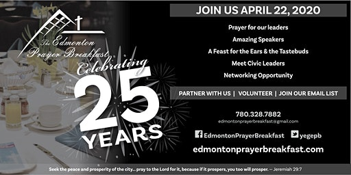 Edmonton Prayer Breakfast 2020