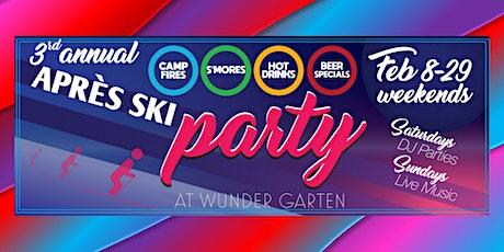 Après Ski Party at Wunder Garten tickets