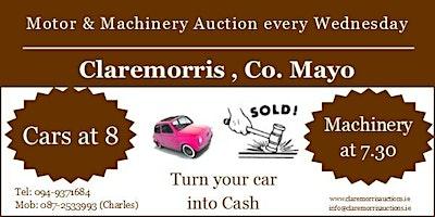 Claremorris Motor & Machinery Auction
