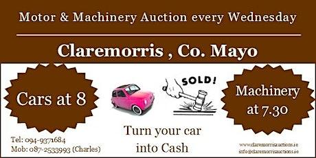 Claremorris Motor & Machinery Auction billets