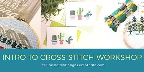Intro to Cross Stitch workshop @ Batch House tickets