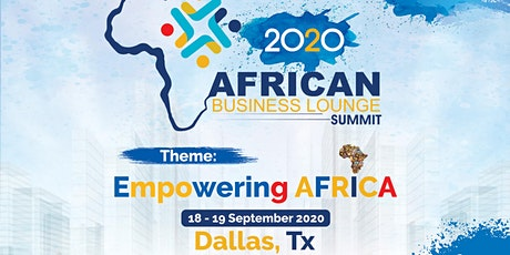 The African Business Lounge 2020 tickets