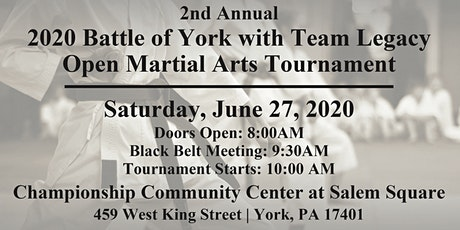 2020 Battle Of York With Team Legacy tickets