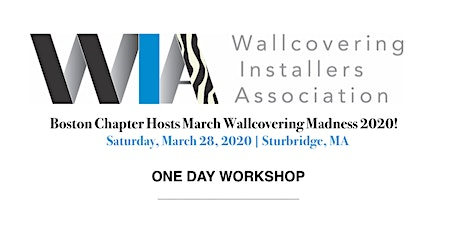 WIA-Boston Chapter sponsors March Wallcovering Madness 2020 tickets
