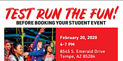 Test Run The FUN! Before Booking Your Student Event