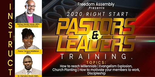 2020 Right Start Pastors & Leaders Training