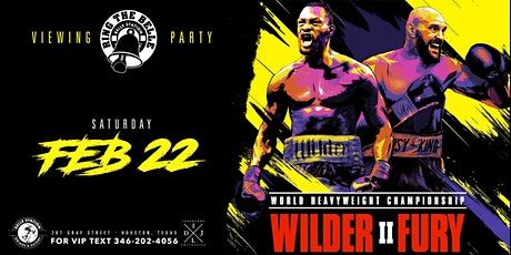 Ring the Belle Fight Night: Wilder vs Fury II tickets
