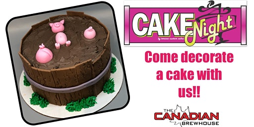 CakeNight- St. Albert (Jensen Lakes)- Piglets in Mud