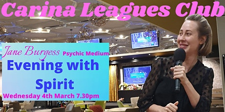 Psychic Medium Jane Burgess - Live tickets